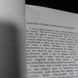 Estefaninha - Memória de Maria Estefânia Anachorêta -