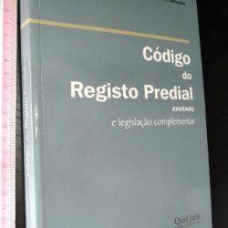 Código do Registo Predial Anotado - José Alberto R. L. González