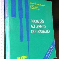 Iniciação ao Direito do Trabalho - Bernardo da Gama Lobo Xavier