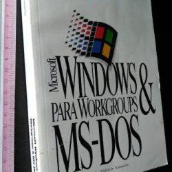 Windows para workgroups e MS-DOS (Guia do usuário) -