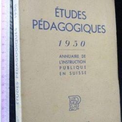 Études pédagogiques - Louis Jaccard