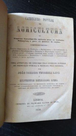 Cathecismo popular de agricultura - João Ignacio Ferreira Lapa