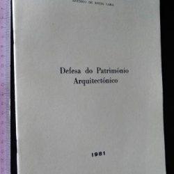 Defesa do património arquitectónico - António de Sousa Lara