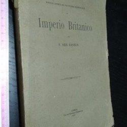 Ensaio sobre os factores essenciais do Império Britânico - F. Reis Santos