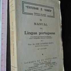 Manual da Língua Portuguesa - José Guerreiro Murta