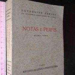 Notas e perfis (Quarta série) - Laudelino Freire