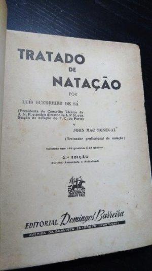Tratado de natação - Luís Guerreiro de Sá