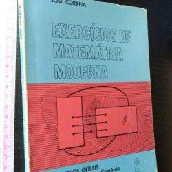Exercícios de matemática moderna - José Correia