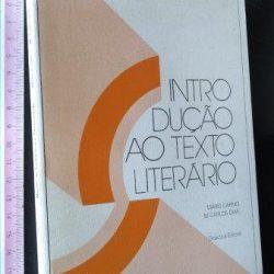 Introdução ao texto literário - Mário Carmo