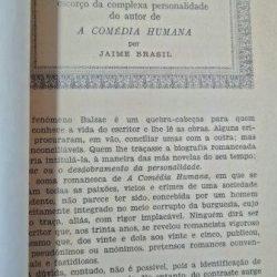 Balzac (Escorço da complexa personalidade do autor de A comédia humana) - Jaime Brasil