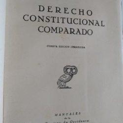 Derecho Constitucional Comparado - Manuel Garcia Pelayo