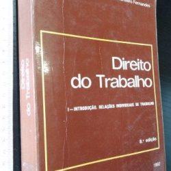Direito do Trabalho (I - Introdução. Relações individuais de trabalho) - António de Lemos Monteiro Fernandes