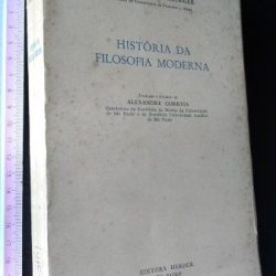 História da filosofia moderna - Johannes Hirschberger
