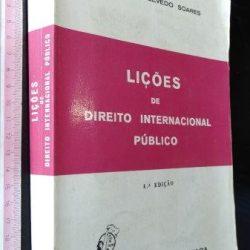 Lições de Direito Internacional Público - Albino de Azevedo Soares