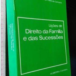 Lições de Direito da Família e das Sucessões - Diogo Leite de Campos