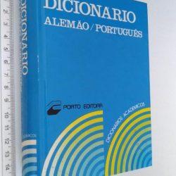 Dicionário alemão português -