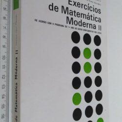 Exercícios de matemática Moderna II - Henrique Verol Marques
