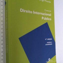 Curso de Direito Internacional Público - Jorge Miranda