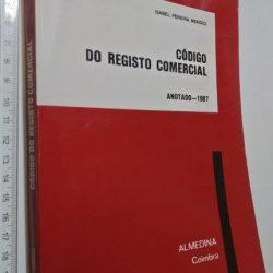 Código do Registo Comercial Anotado (1987) - Isabel Pereira Mendes