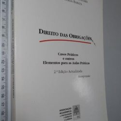 Direito das Obrigações (Casos práticos e outros elementos para as aulas práticas) - Manuel Januário da Costa Gomes