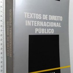 Textos de Direito Internacional Público - Pedro Romano Martinez