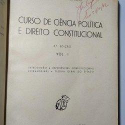 Curso de Ciência Política e Direito Constitucional (2 vols.) - Marcello Caetano