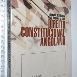 Direito Constitucional Angolano - Jónatas E. M. Machado