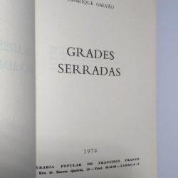 Grades serradas - Henrique Galvão