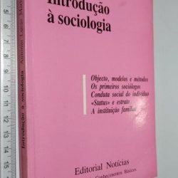 Introdução à sociologia - Antonio Lucaa Marín