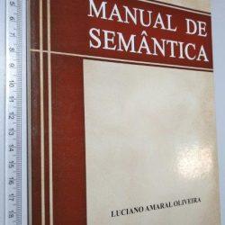 Manual de Semântica - Luciano Amaral Oliveira