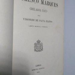 Memória sobre Lourenço Marques (Delagoa Bay) - Levy Maria Jordão