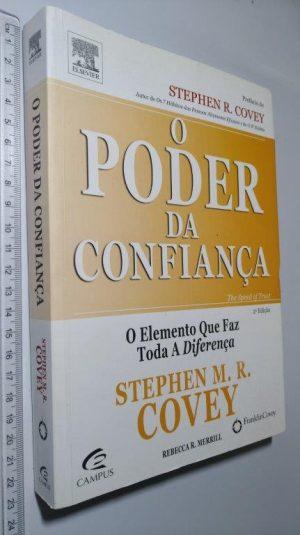 O Poder da Confiança - Stephen M.R. Covey