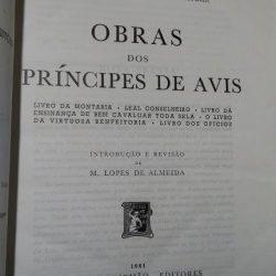 Obras dos príncipes de Avis - M. Lopes de Almeida