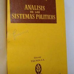 Analisis de los sistemas politicos - Douglas V. Verney