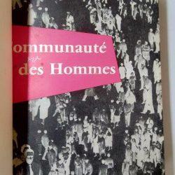 Communauté des hommes - J. Laloup