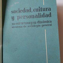 cultura y personalidad - Pitirim A. Sorokin