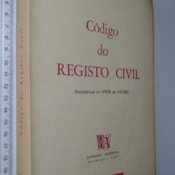 Código do Registo Civil (1967) -