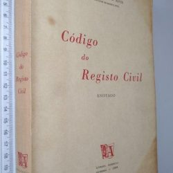 Código do Registo Civil Anotado - Arnaldo Augusto Alves