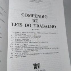 Compêndio de Leis do Trabalho (1998) - António José Moreira