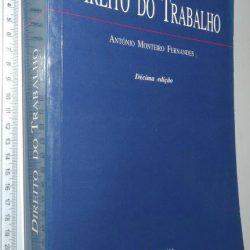 Direito do Trabalho - António Lemos Monteiro Fernandes