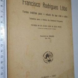 Francisco Rodrigues Lôbo - Carlos Alberto Ferreira