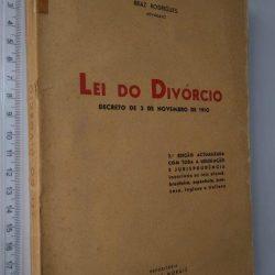 Lei do divórcio - Braz Rodrigues