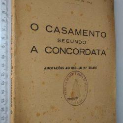 O casamento segundo a Concordata - António Ferreira