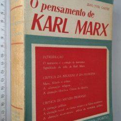 O pensamento de Karl Marx (1.° vol.) - Jean-Yves Calvez