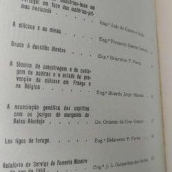 notas e trabalhos do Serviço de Fomento Mineiro (vol. XV