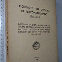 Sociedades por quotas de responsabilidade limitada (1966) - Raul Ventura