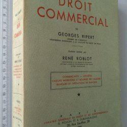 Traité Élémentaire de Droit Commercial (Tome I) - Georges Ripert / René Roblot