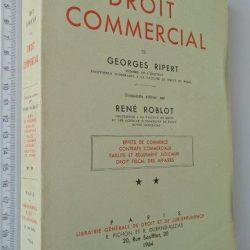 Traité Élémentaire de Droit Commercial (Tome II) - Georges Ripert / René Roblot
