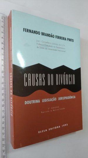 Causas do divórcio - Fernando Brandão Ferreira Pinto
