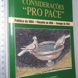 Considerações Pro Pace - Francisco de Mata Mourisca